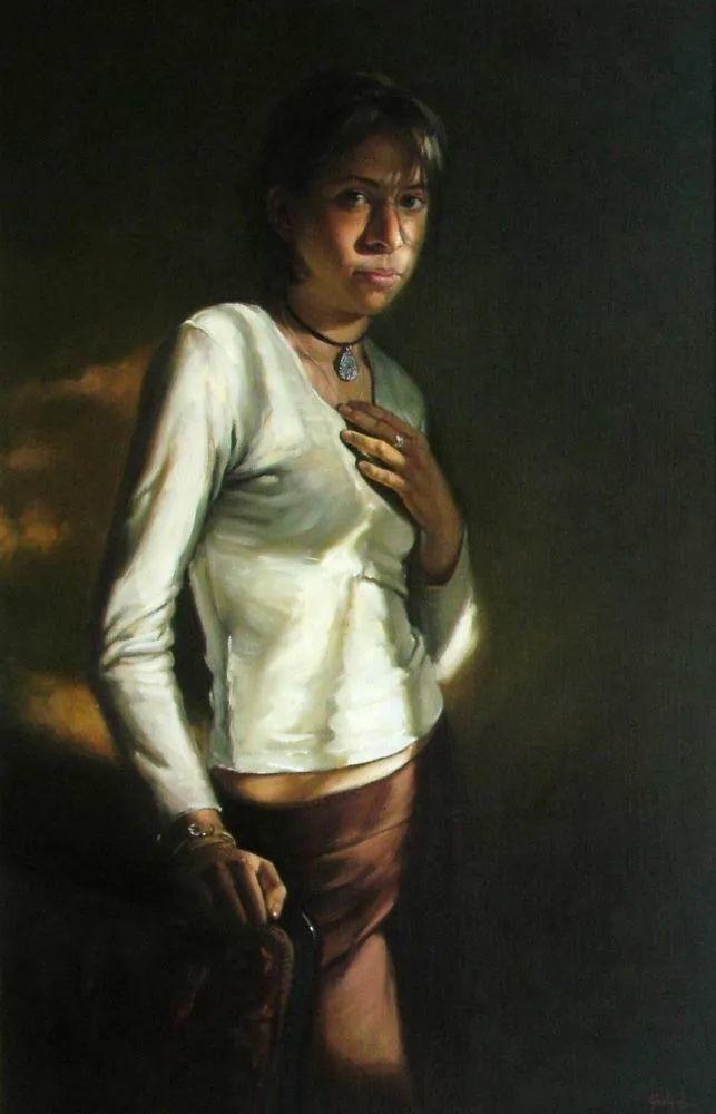 具象风格,匈牙利画家拉斯洛·古里亚斯插图43