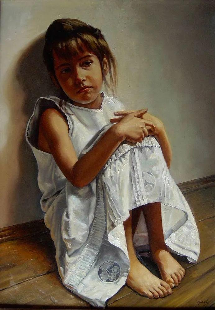 具象风格,匈牙利画家拉斯洛·古里亚斯插图45