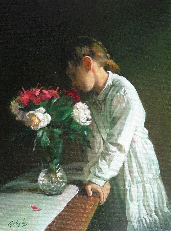 具象风格,匈牙利画家拉斯洛·古里亚斯插图47
