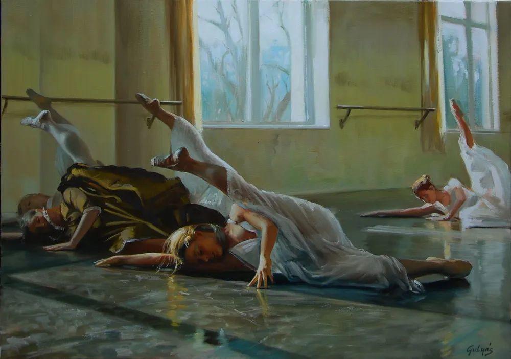 具象风格,匈牙利画家拉斯洛·古里亚斯插图57
