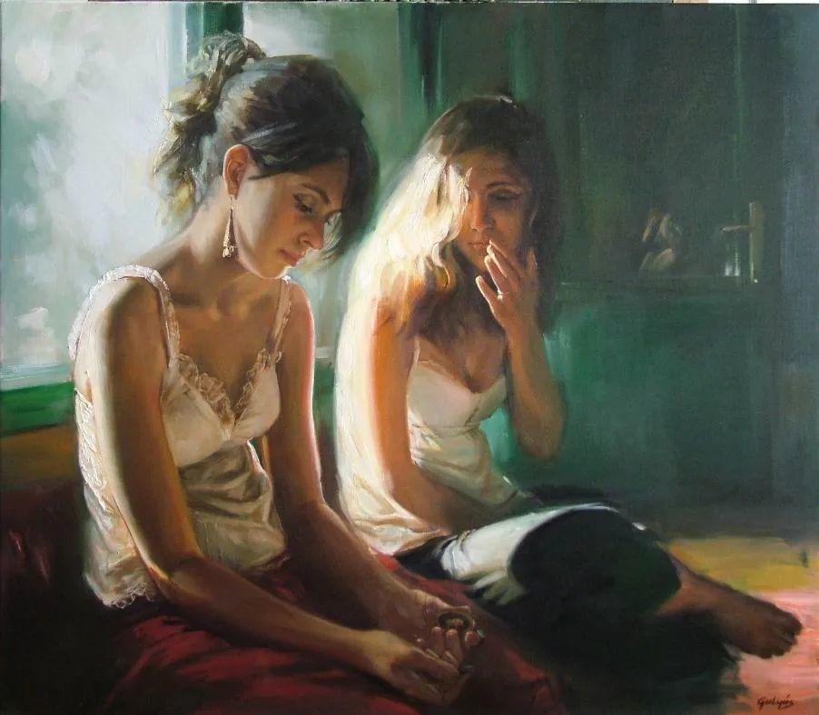 具象风格,匈牙利画家拉斯洛·古里亚斯插图61