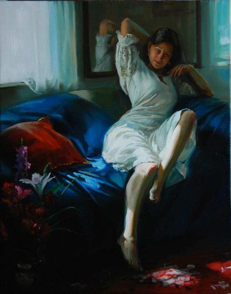 具象风格,匈牙利画家拉斯洛·古里亚斯插图65