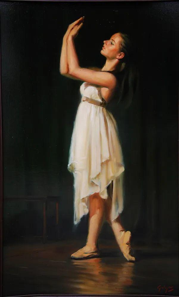 具象风格,匈牙利画家拉斯洛·古里亚斯插图67