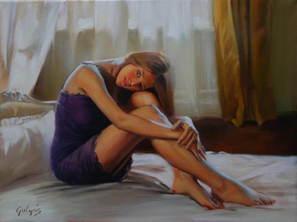 具象风格,匈牙利画家拉斯洛·古里亚斯插图69