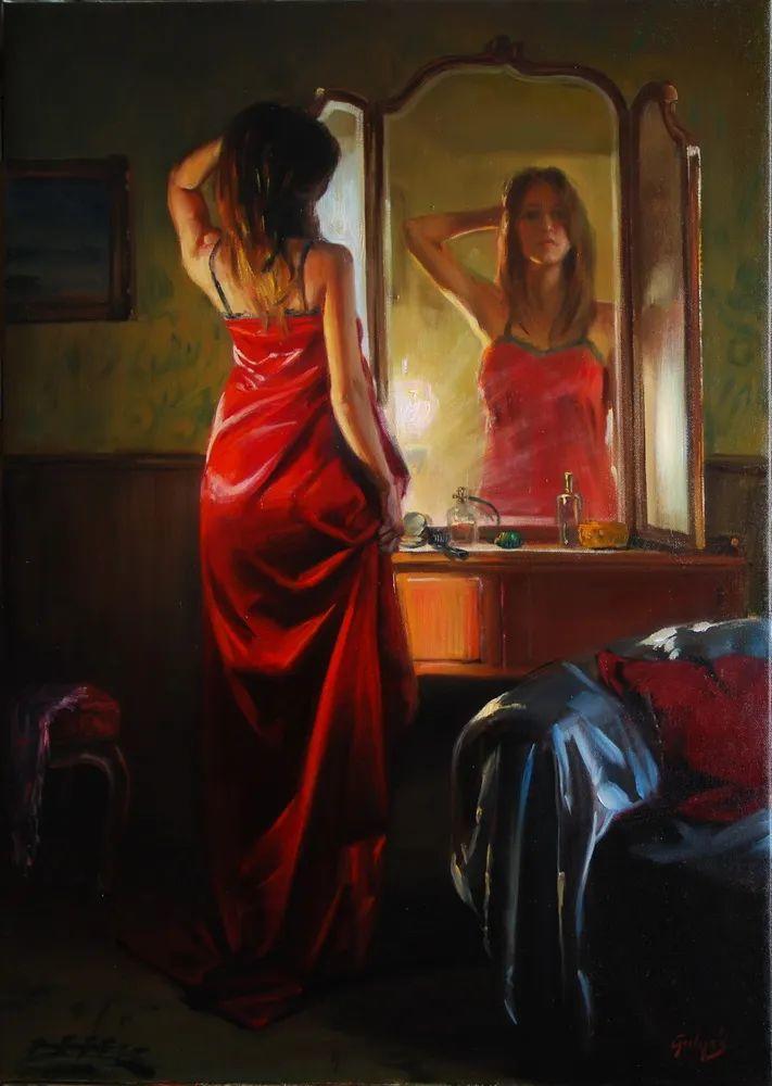 具象风格,匈牙利画家拉斯洛·古里亚斯插图75