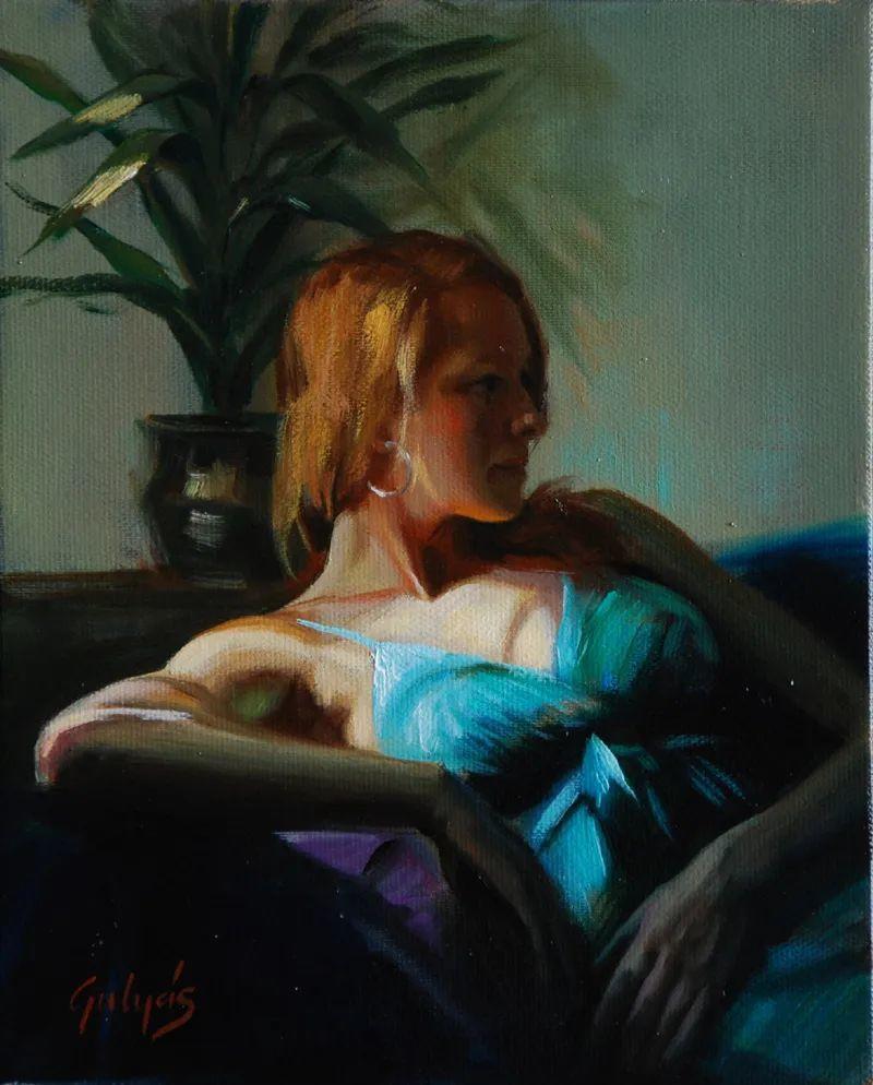 具象风格,匈牙利画家拉斯洛·古里亚斯插图85