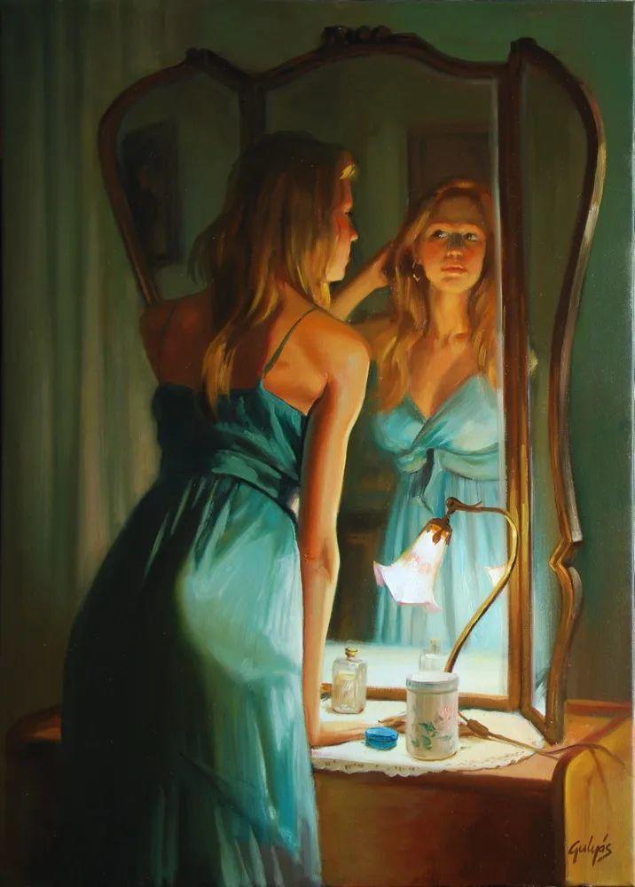 具象风格,匈牙利画家拉斯洛·古里亚斯插图91