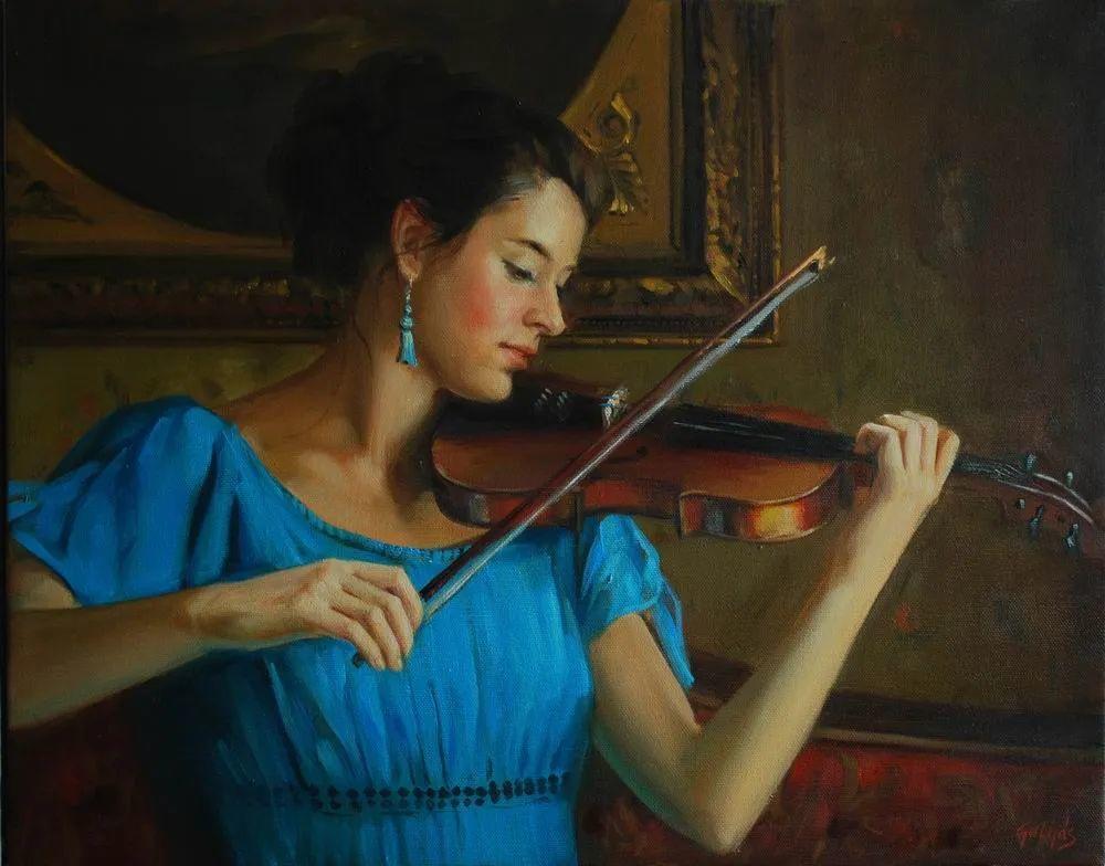 具象风格,匈牙利画家拉斯洛·古里亚斯插图95