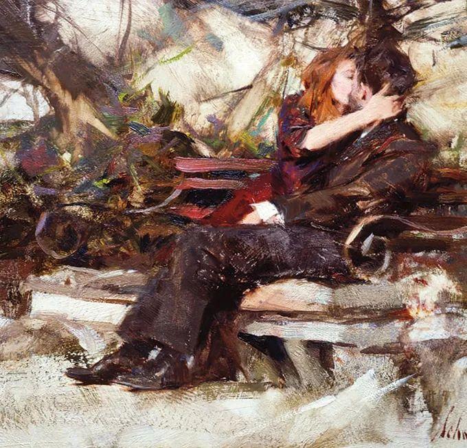 美式油画大师理查德·施密德作品,让人毫无抵抗力!插图89