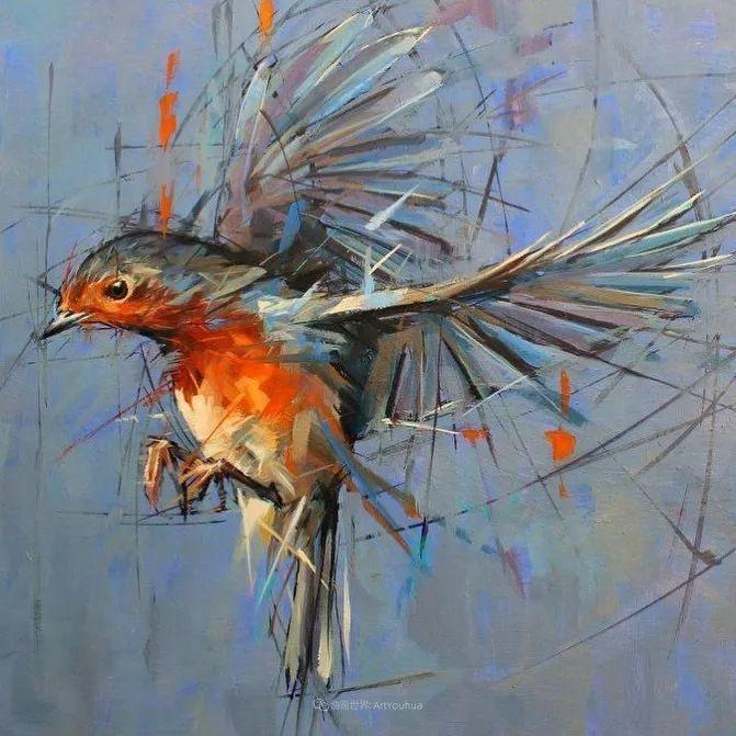 飞行中的鸟儿之美,活力飞扬,太赞了!插图38