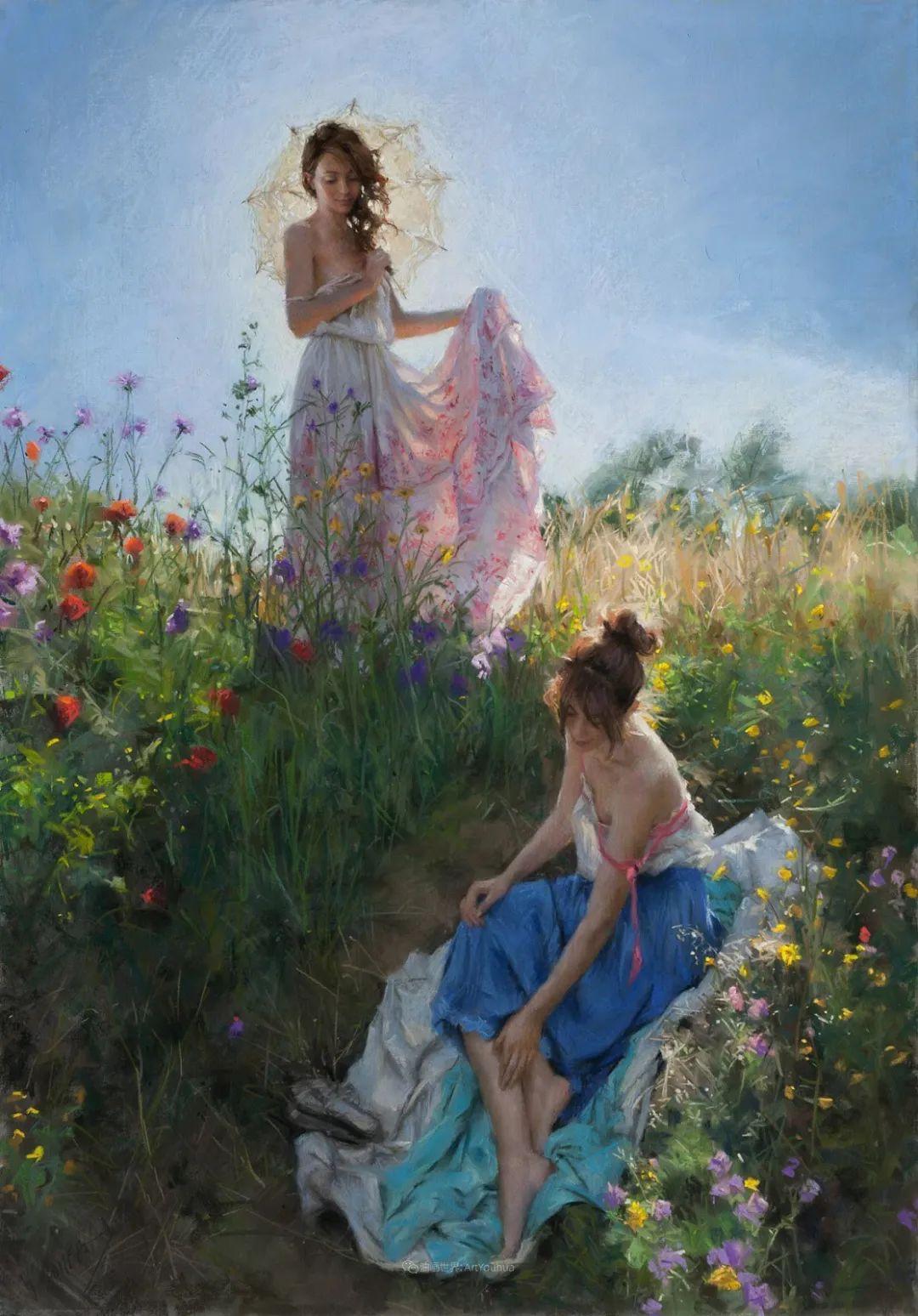 地中海暖阳下,穿裙的女子,浪漫美丽!插图
