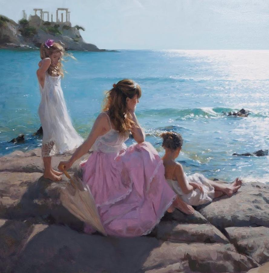 地中海暖阳下,穿裙的女子,浪漫美丽!插图5