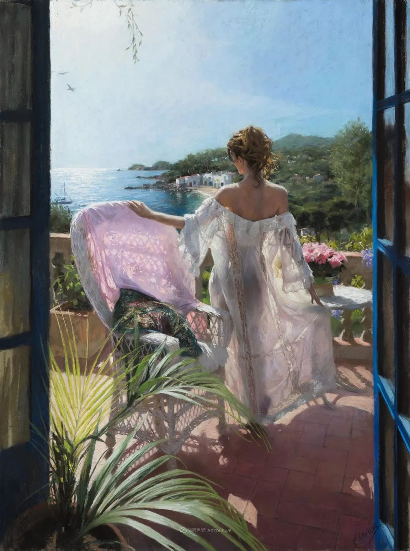 地中海暖阳下,穿裙的女子,浪漫美丽!插图17