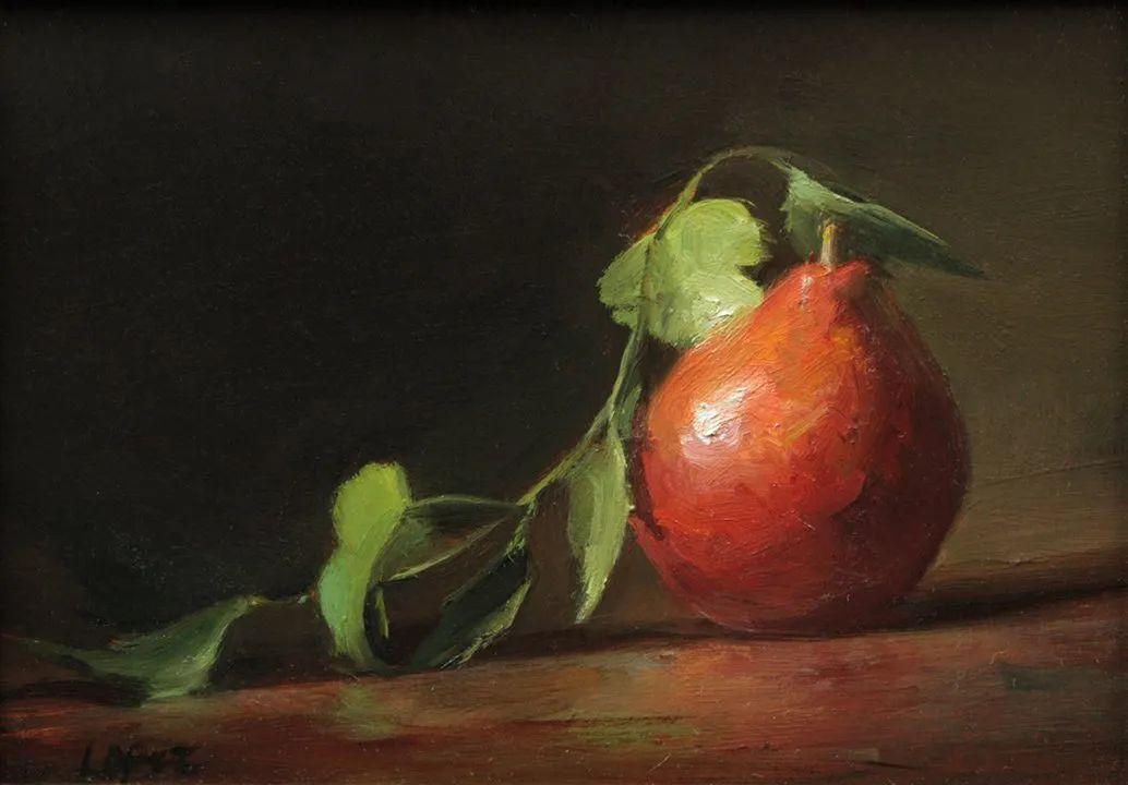 水果与静物,美国女画家莉亚·洛佩兹画选插图3