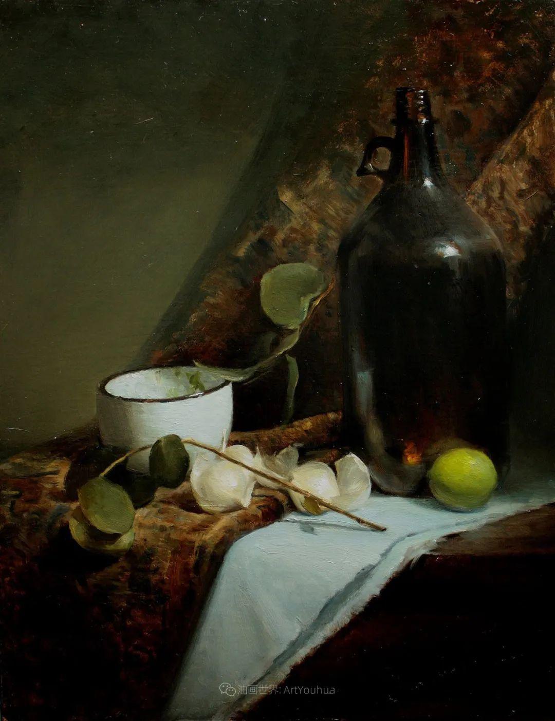 水果与静物,美国女画家莉亚·洛佩兹画选插图15