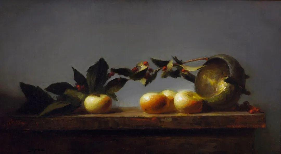 水果与静物,美国女画家莉亚·洛佩兹画选插图19