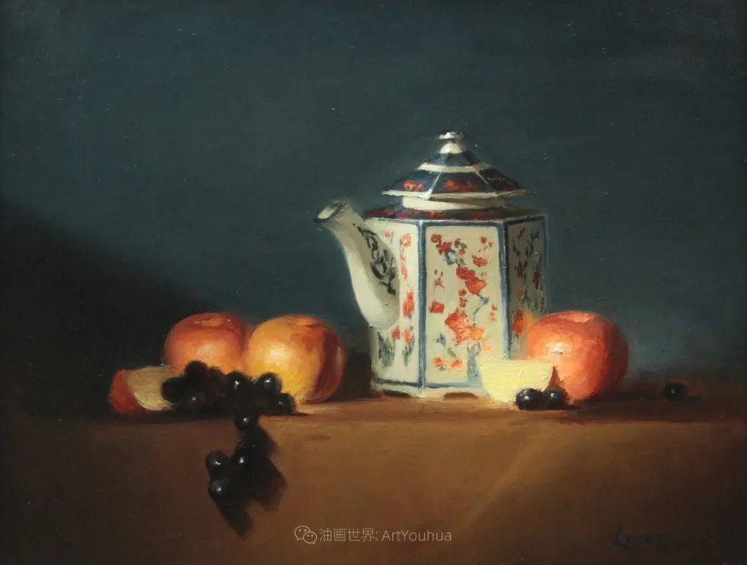 水果与静物,美国女画家莉亚·洛佩兹画选插图21