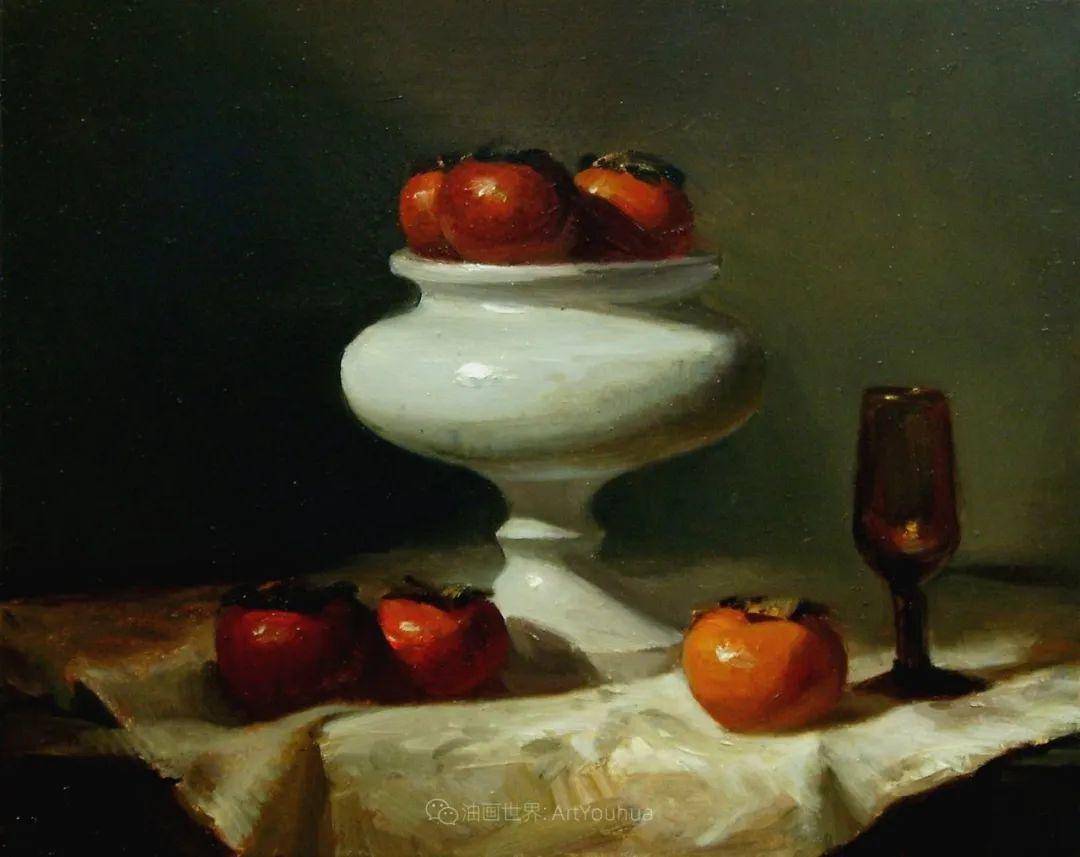 水果与静物,美国女画家莉亚·洛佩兹画选插图23