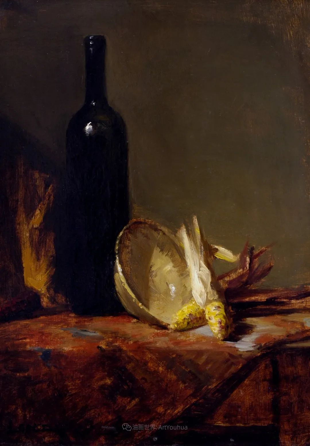 水果与静物,美国女画家莉亚·洛佩兹画选插图25