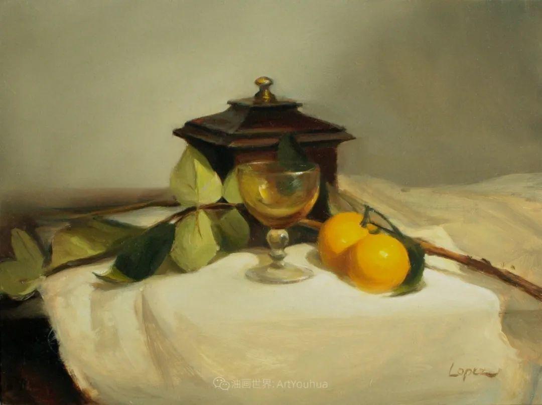 水果与静物,美国女画家莉亚·洛佩兹画选插图29