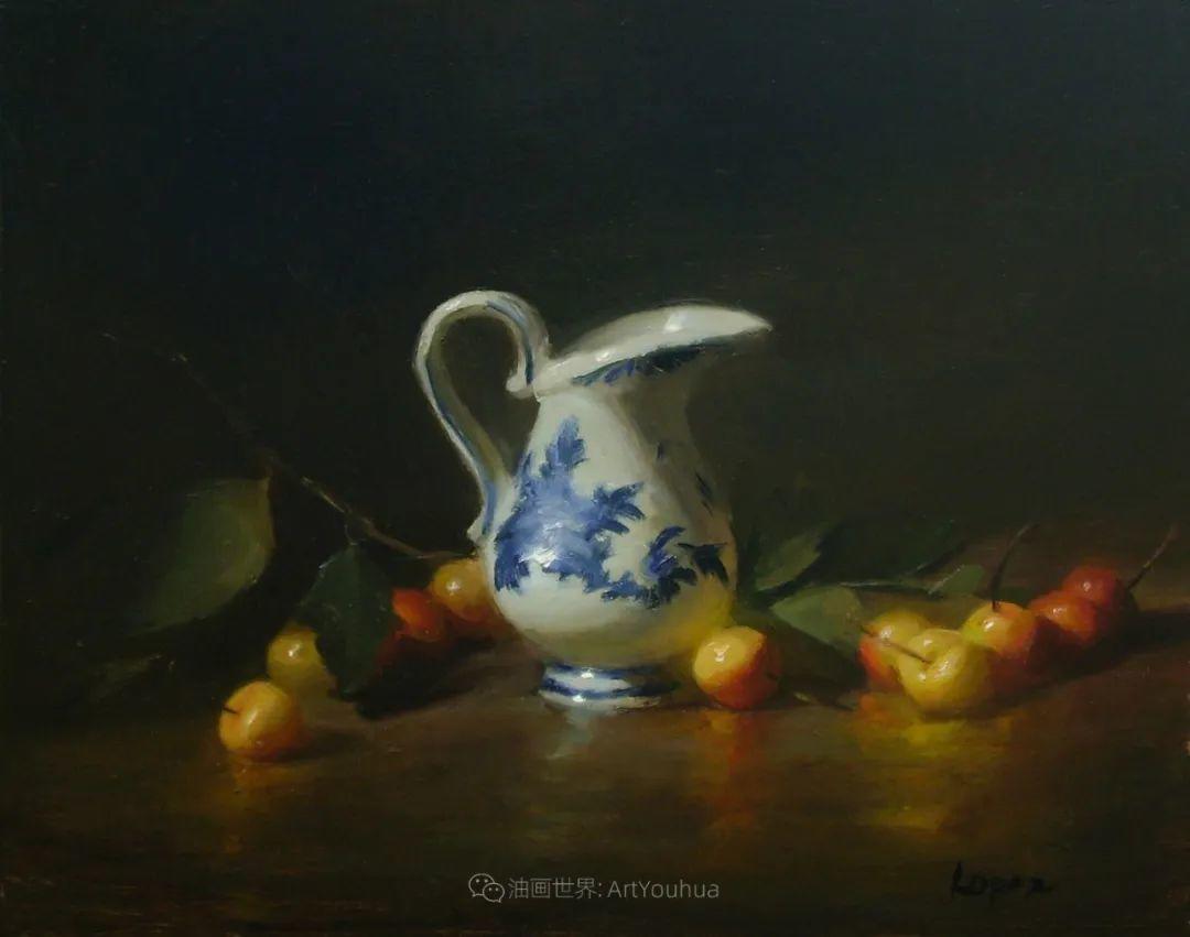 水果与静物,美国女画家莉亚·洛佩兹画选插图33