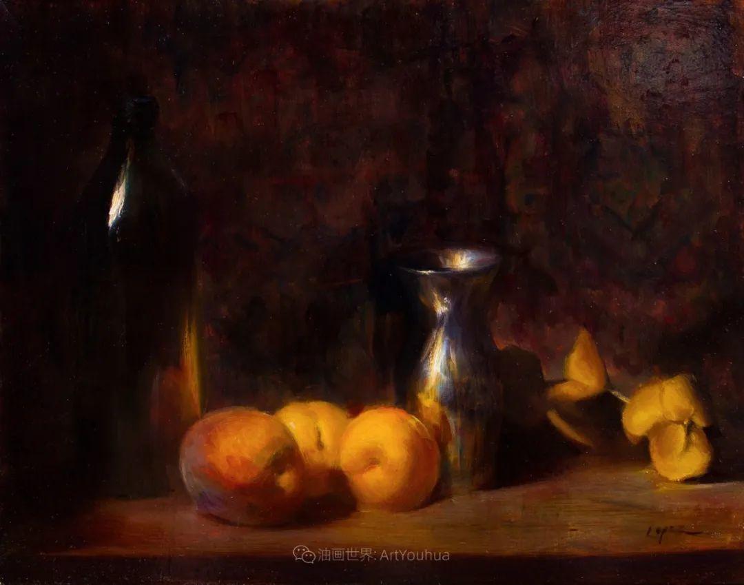 水果与静物,美国女画家莉亚·洛佩兹画选插图35