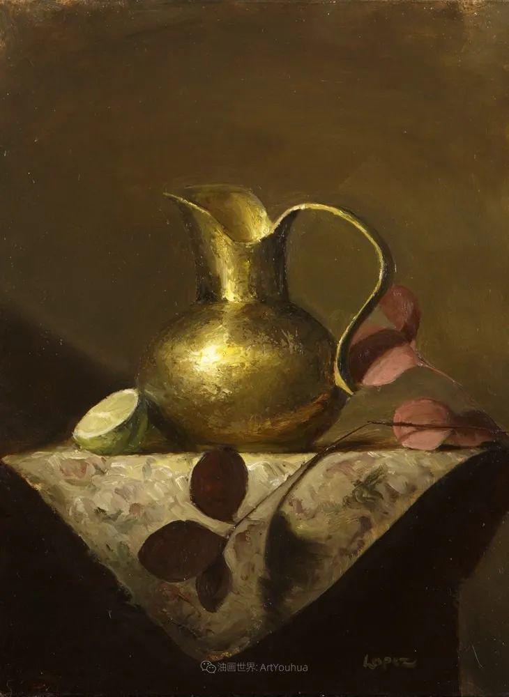 水果与静物,美国女画家莉亚·洛佩兹画选插图37