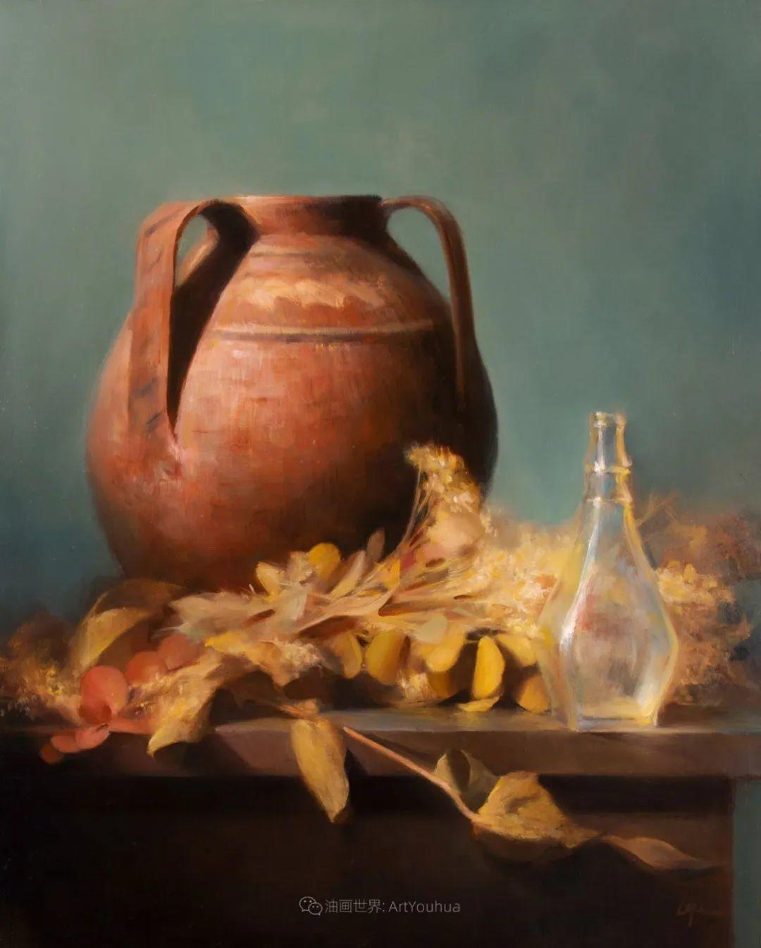 水果与静物,美国女画家莉亚·洛佩兹画选插图39