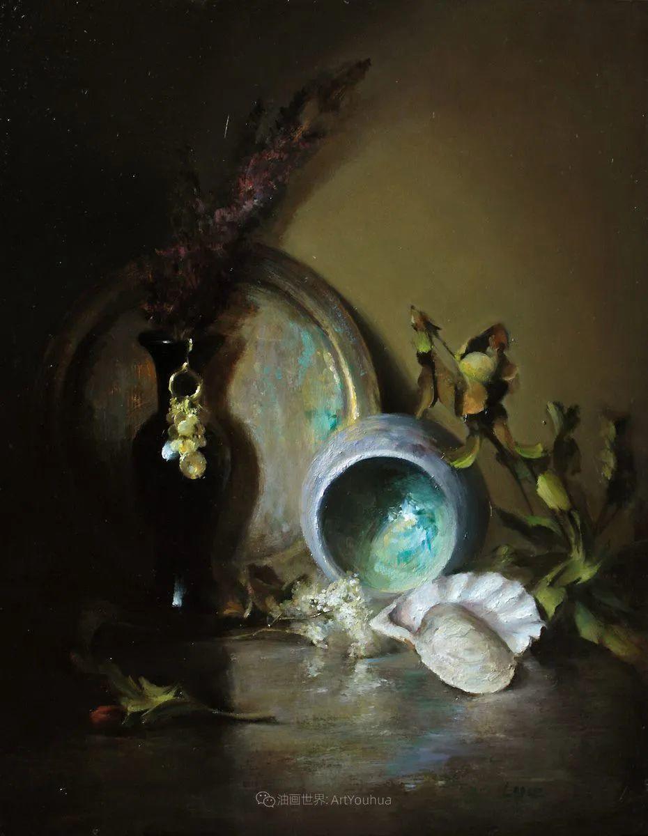 水果与静物,美国女画家莉亚·洛佩兹画选插图41