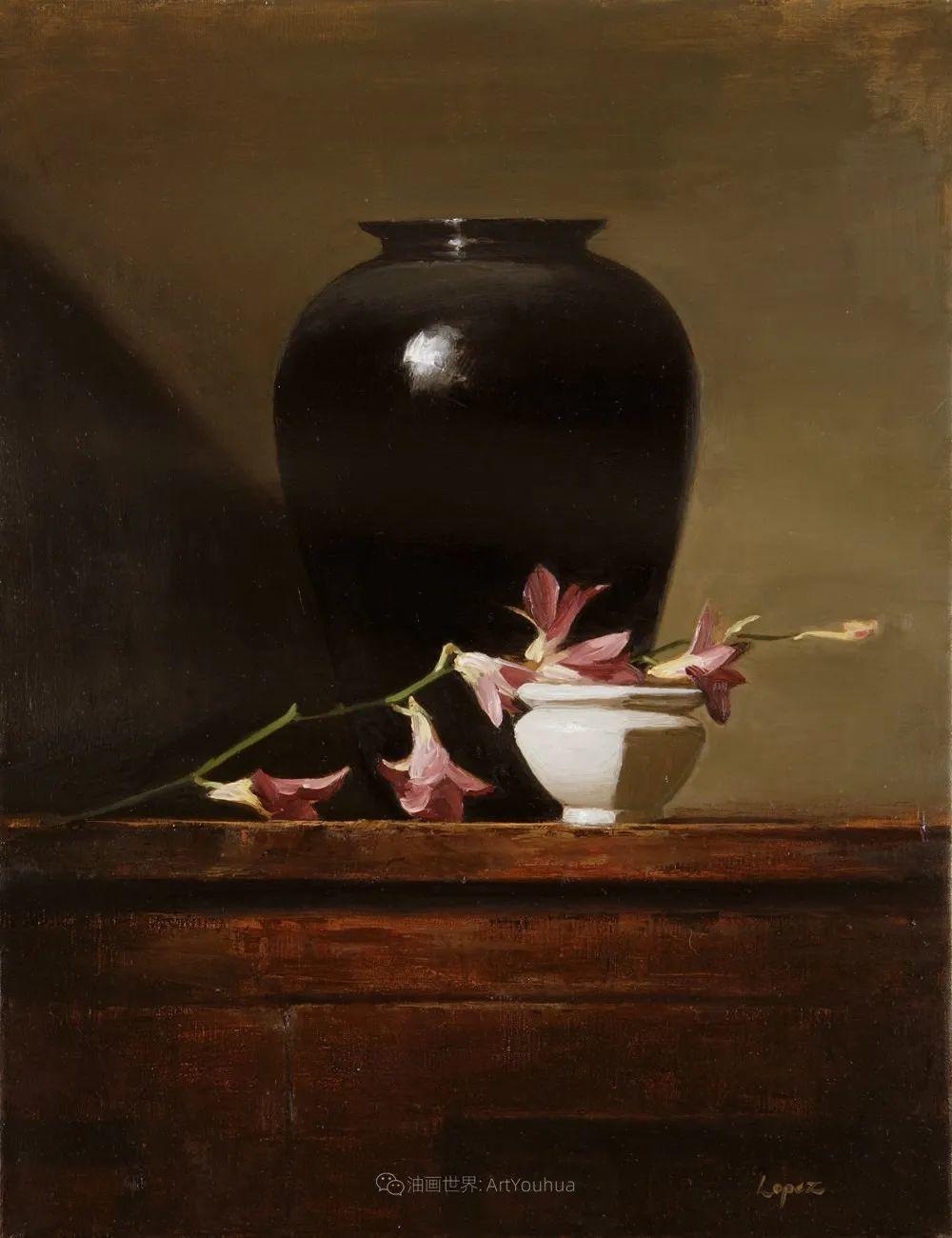 水果与静物,美国女画家莉亚·洛佩兹画选插图43