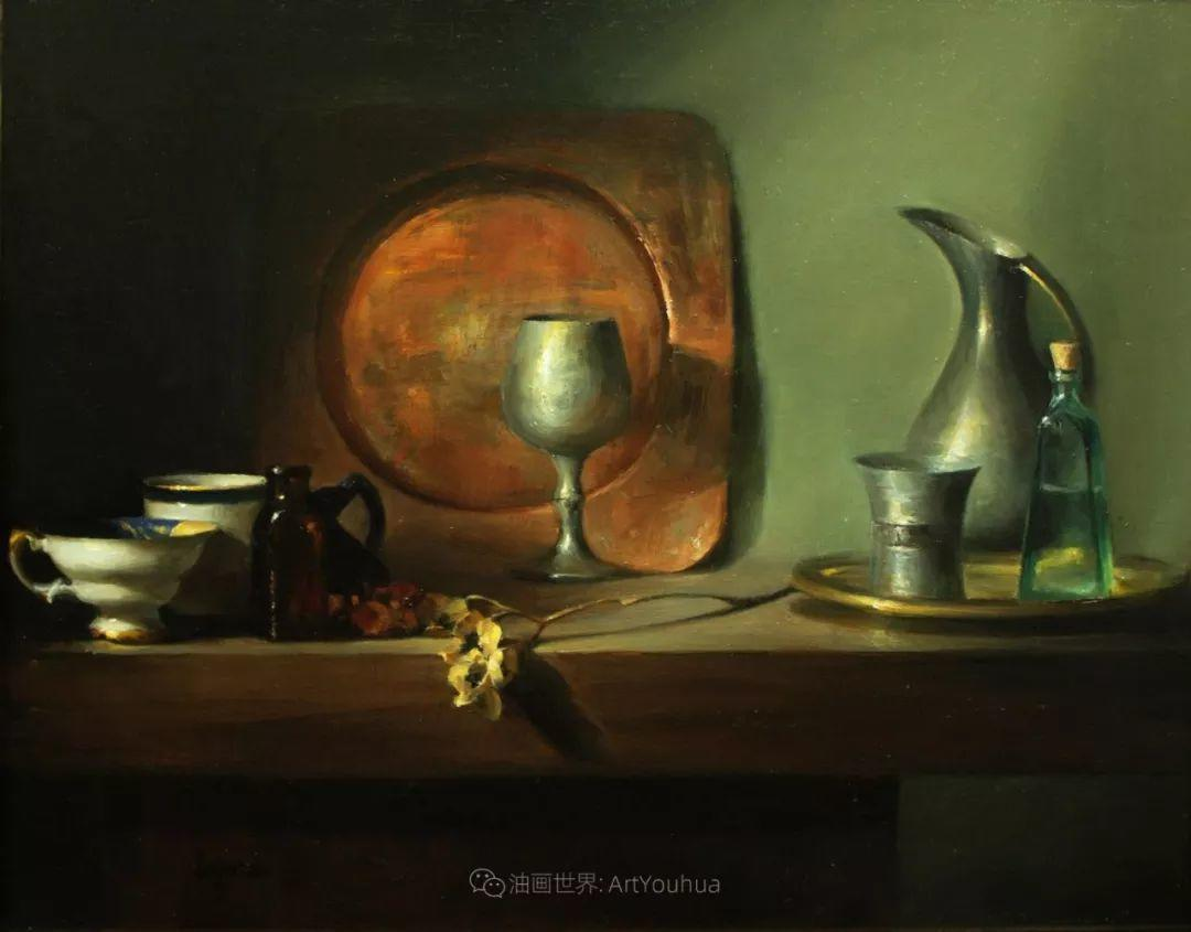 水果与静物,美国女画家莉亚·洛佩兹画选插图45