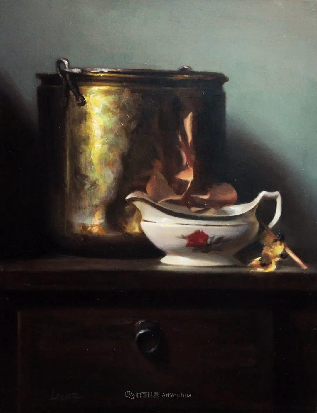 水果与静物,美国女画家莉亚·洛佩兹画选插图47