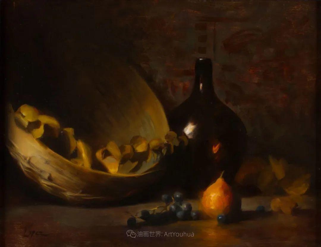 水果与静物,美国女画家莉亚·洛佩兹画选插图49