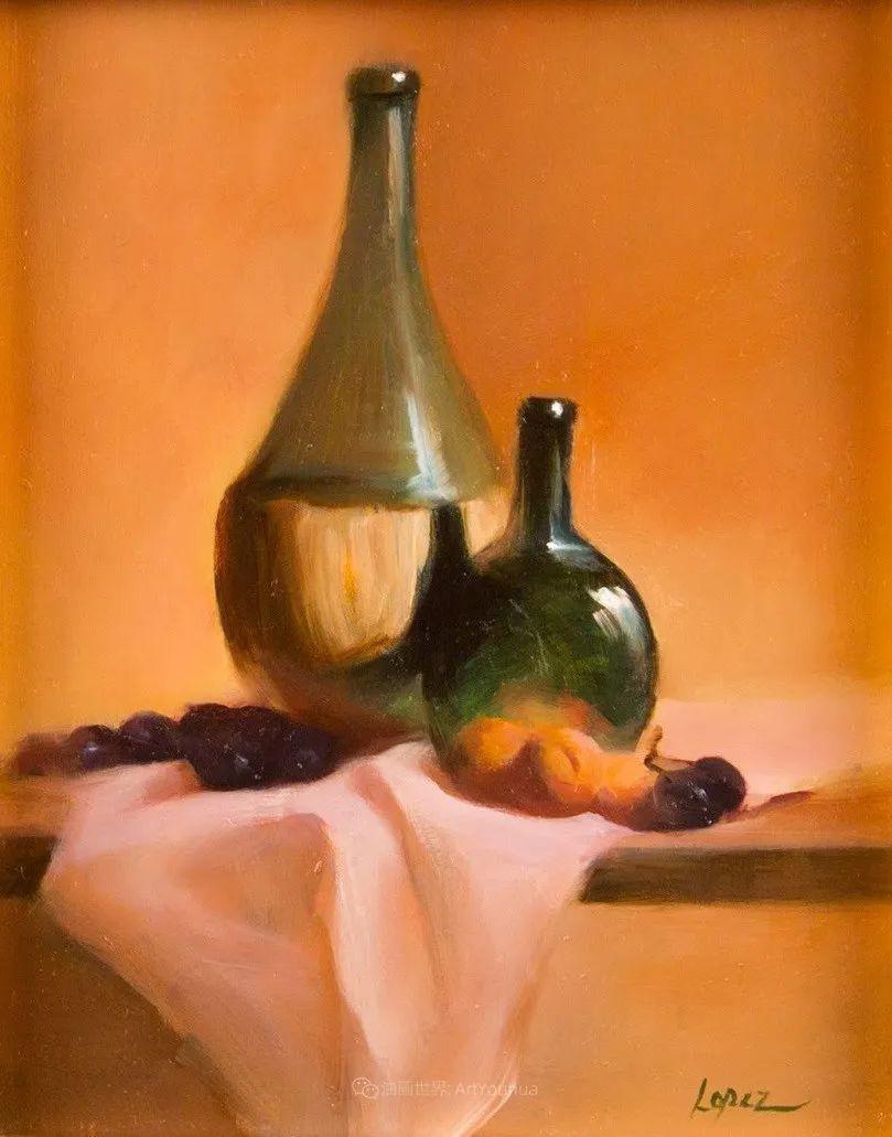 水果与静物,美国女画家莉亚·洛佩兹画选插图51