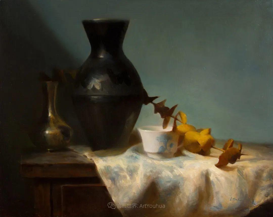 水果与静物,美国女画家莉亚·洛佩兹画选插图53