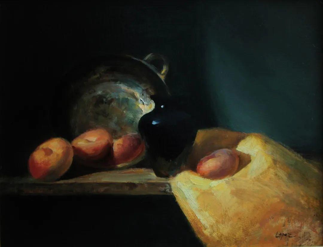 水果与静物,美国女画家莉亚·洛佩兹画选插图55