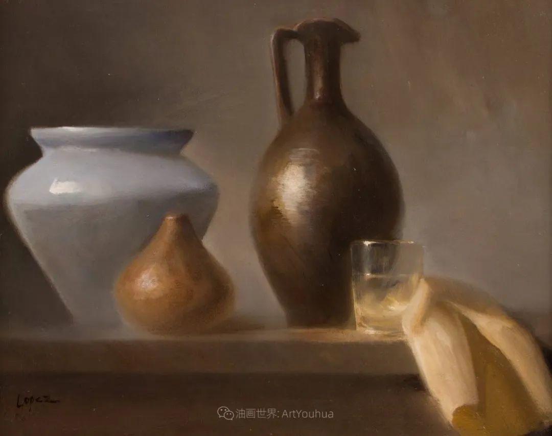 水果与静物,美国女画家莉亚·洛佩兹画选插图57