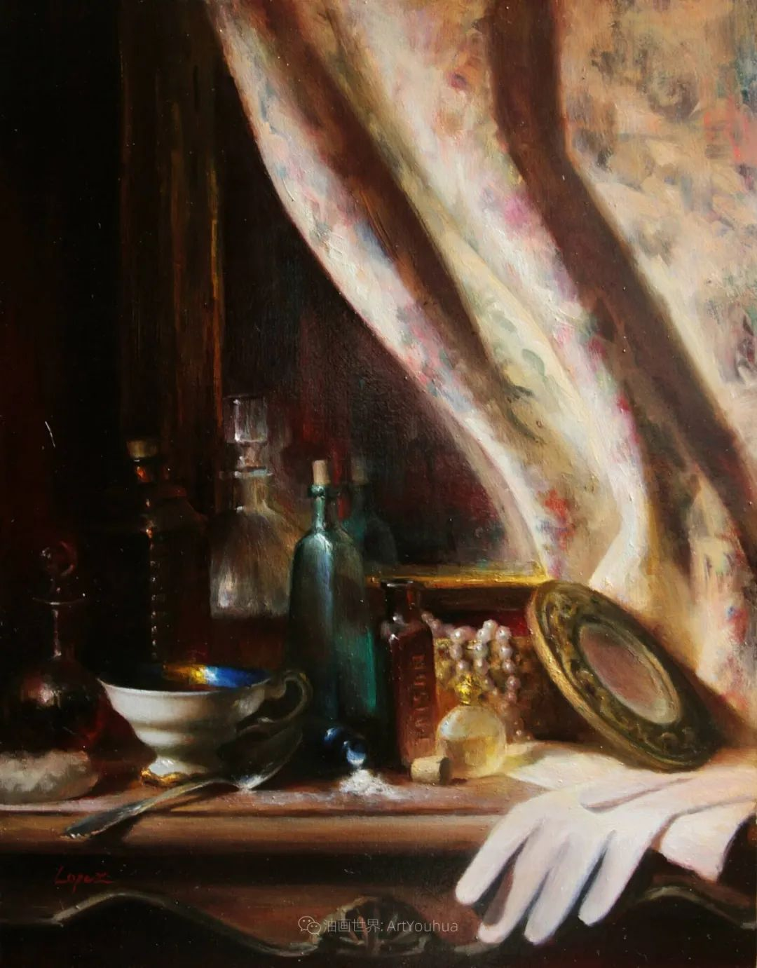 水果与静物,美国女画家莉亚·洛佩兹画选插图59