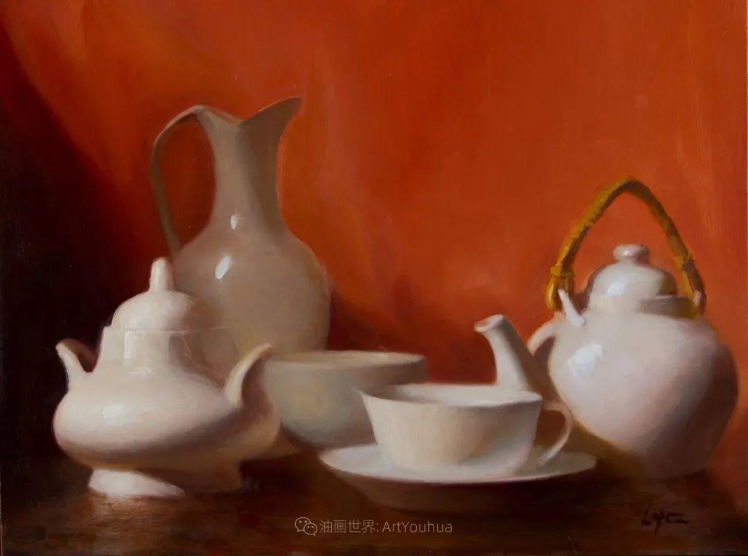 水果与静物,美国女画家莉亚·洛佩兹画选插图61