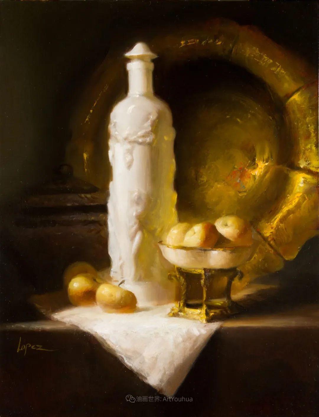 水果与静物,美国女画家莉亚·洛佩兹画选插图63