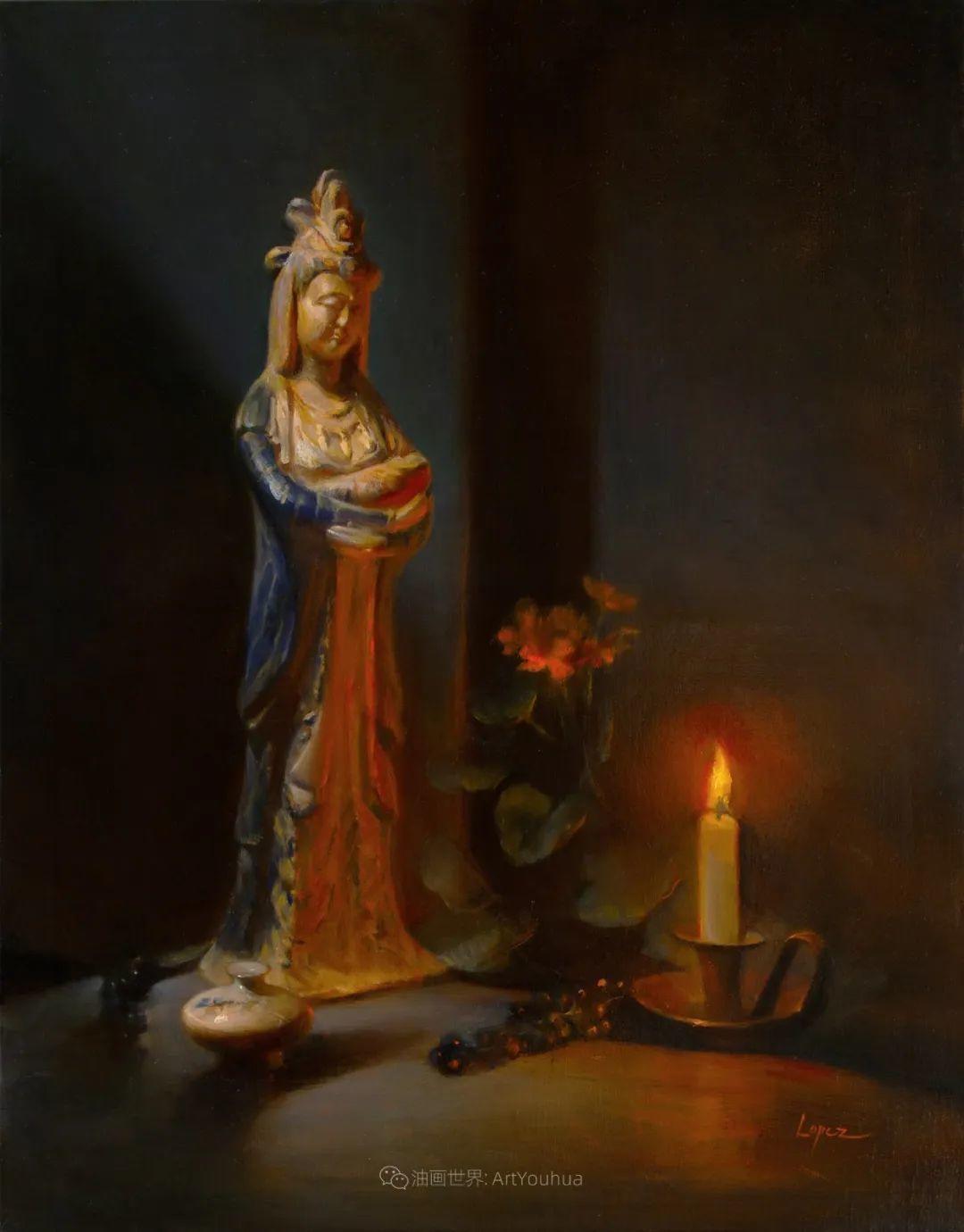 水果与静物,美国女画家莉亚·洛佩兹画选插图65