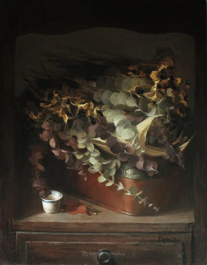 水果与静物,美国女画家莉亚·洛佩兹画选插图69