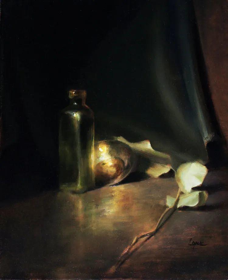 水果与静物,美国女画家莉亚·洛佩兹画选插图75