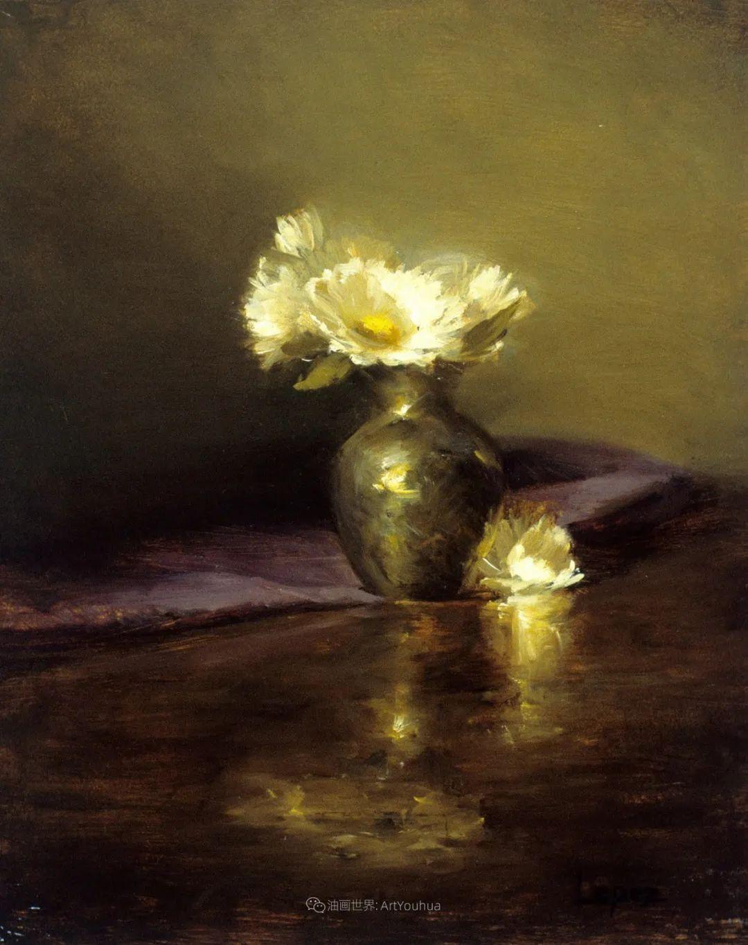 美国女画家莉亚·洛佩兹花卉静物选插图5
