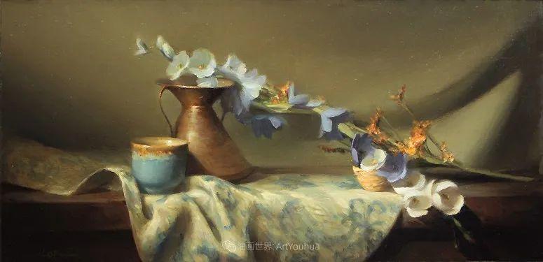 美国女画家莉亚·洛佩兹花卉静物选插图11