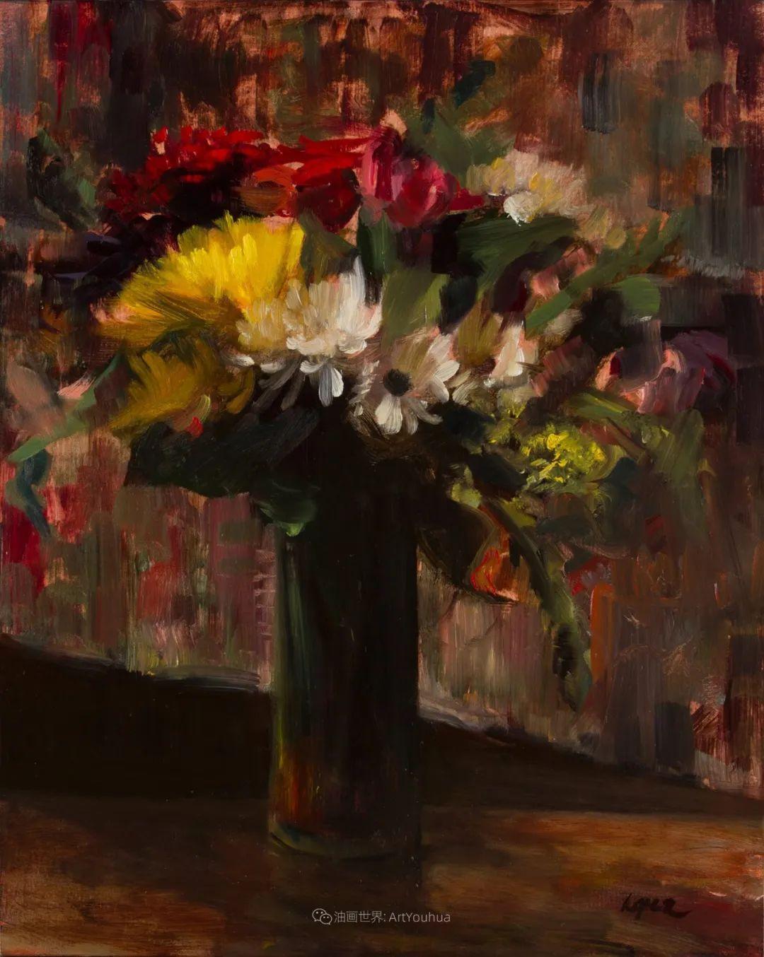 美国女画家莉亚·洛佩兹花卉静物选插图13