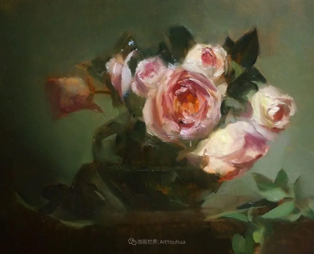 美国女画家莉亚·洛佩兹花卉静物选插图25