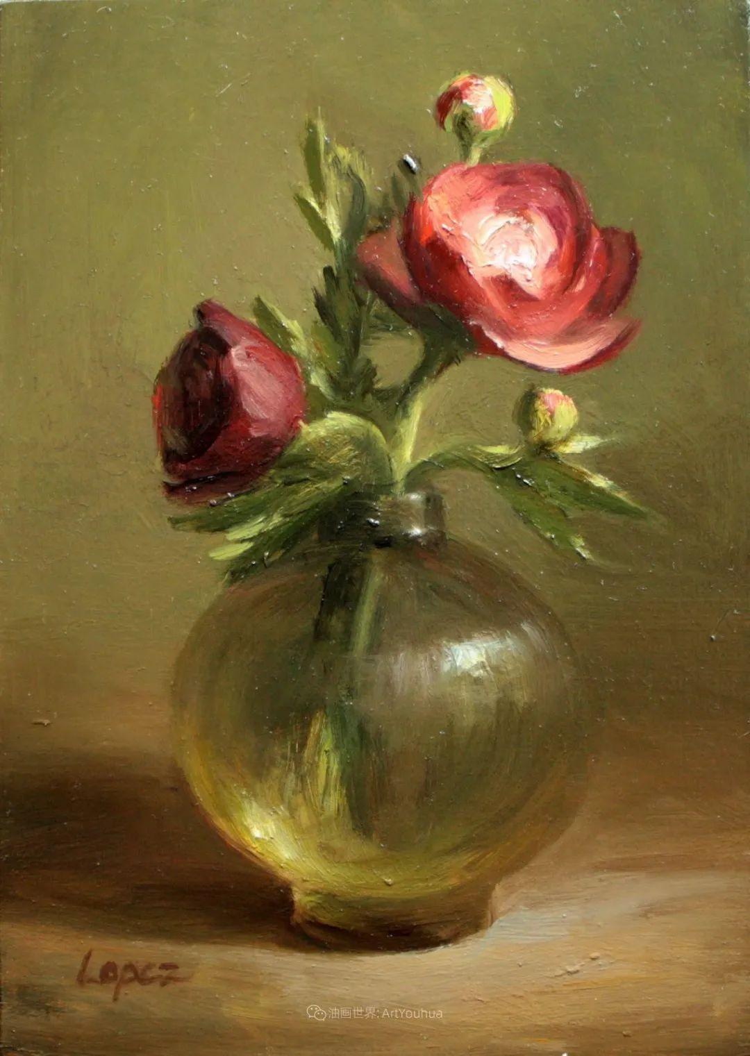 美国女画家莉亚·洛佩兹花卉静物选插图27
