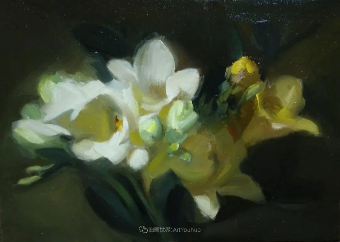 美国女画家莉亚·洛佩兹花卉静物选插图31