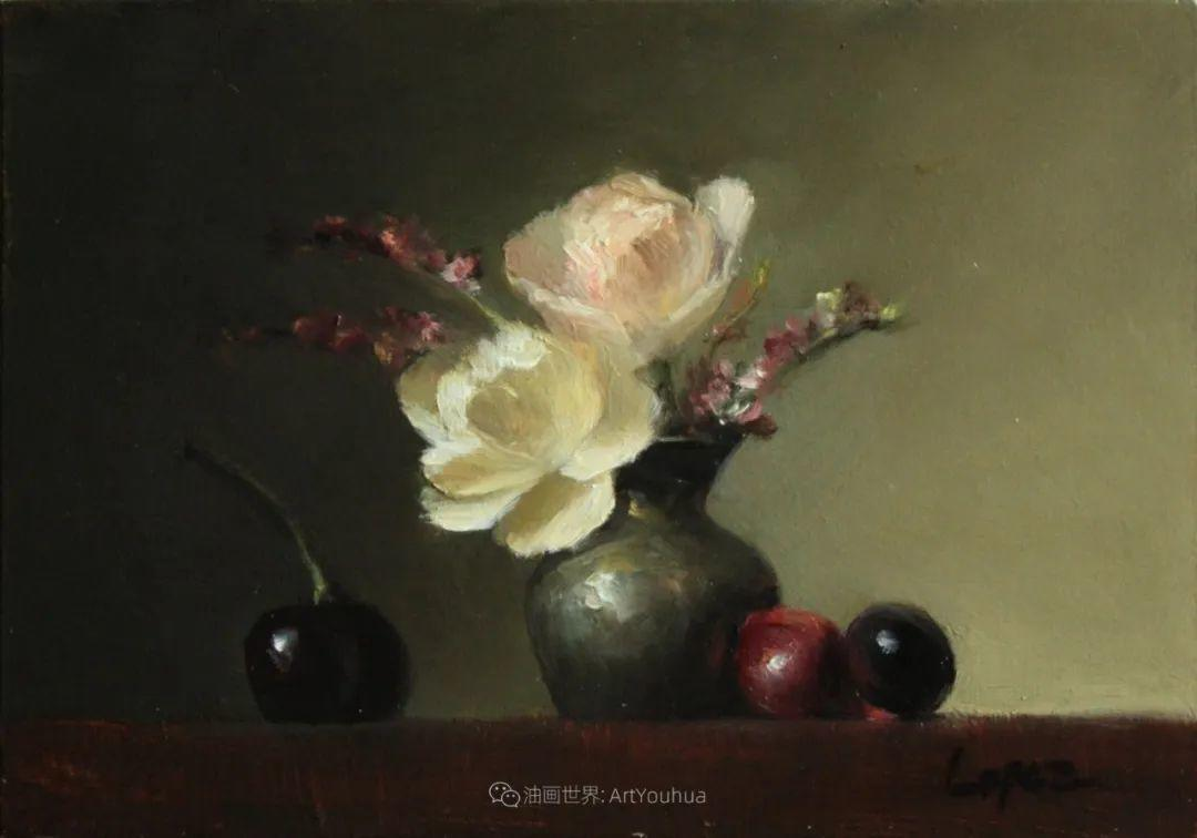 美国女画家莉亚·洛佩兹花卉静物选插图33